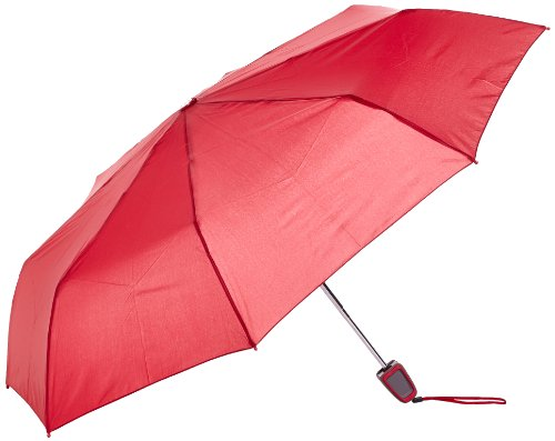 Samsonite S-oulite Umbrellas 3 Sect. Auto O/c, Uni Taschenschirm Rot Jester Red