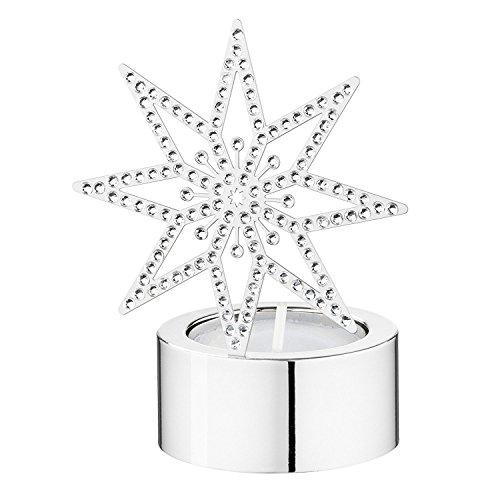 Swarovski Silberstern Teelicht Tea Light Silver Star 5030477 AP 2014
