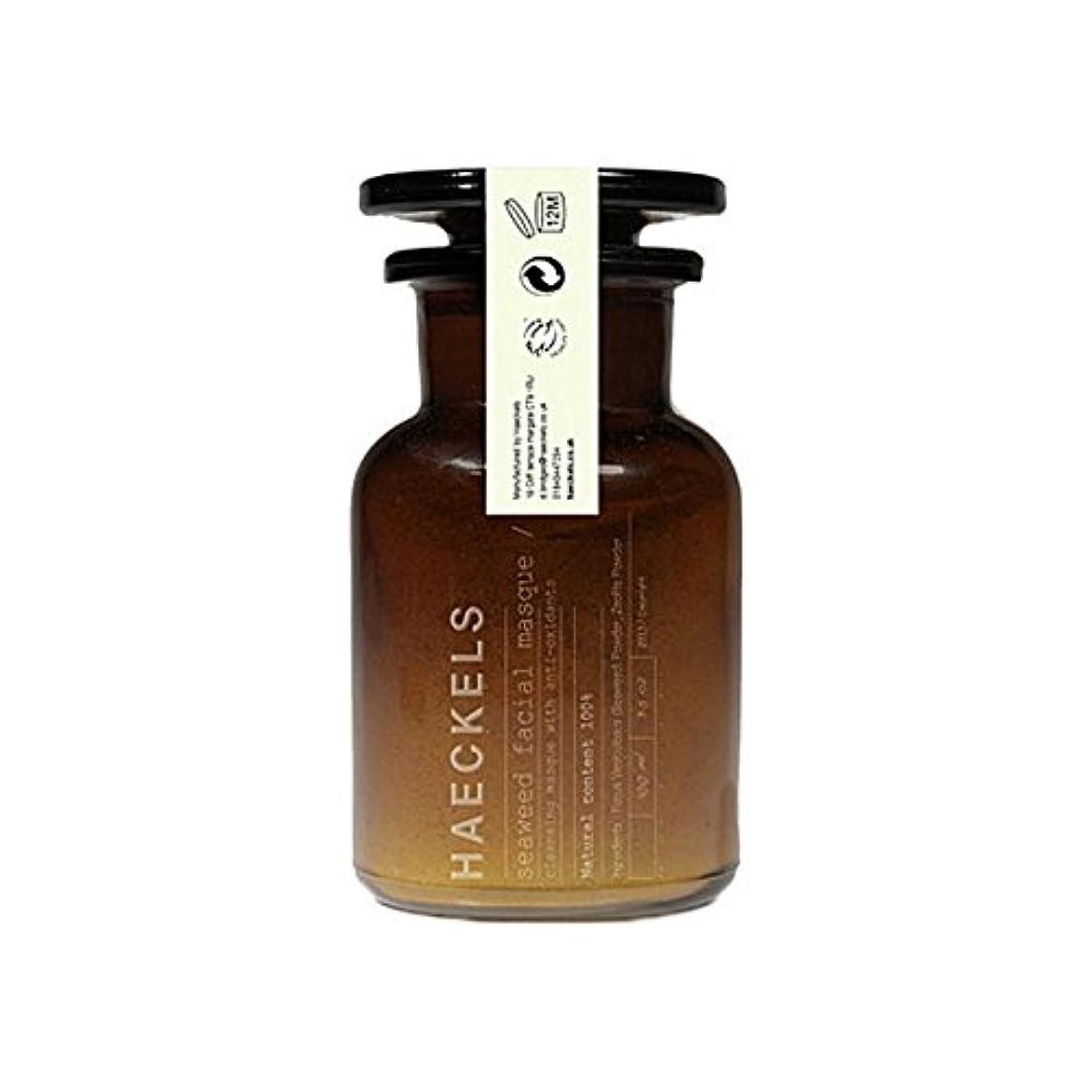 ハドルゴミジャンピングジャック海藻やミネラルフェイスマスク100ミリリットルを x4 - Haeckels Seaweed And Mineral Face Mask 100Ml (Pack of 4) [並行輸入品]