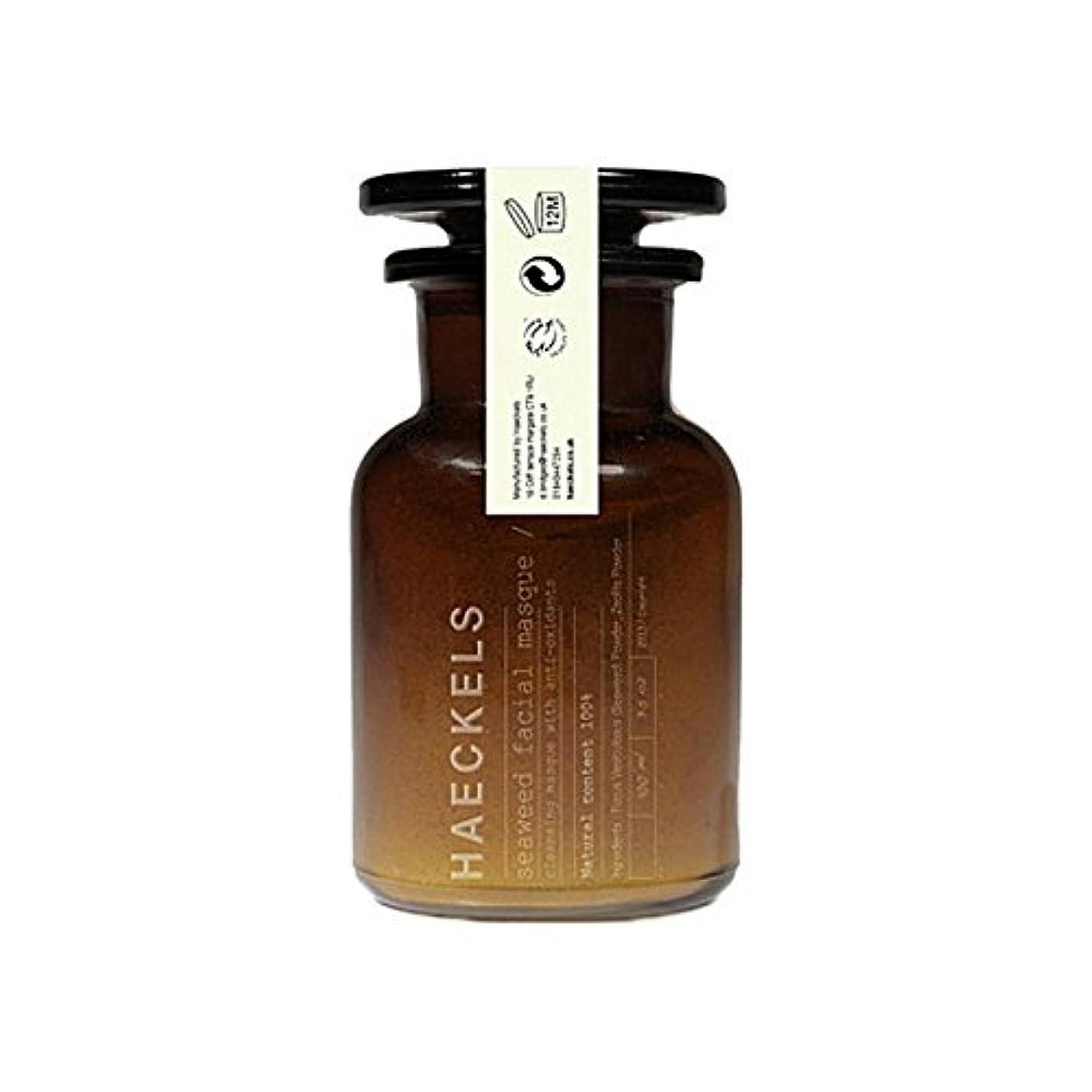選ぶお香買う海藻やミネラルフェイスマスク100ミリリットルを x4 - Haeckels Seaweed And Mineral Face Mask 100Ml (Pack of 4) [並行輸入品]