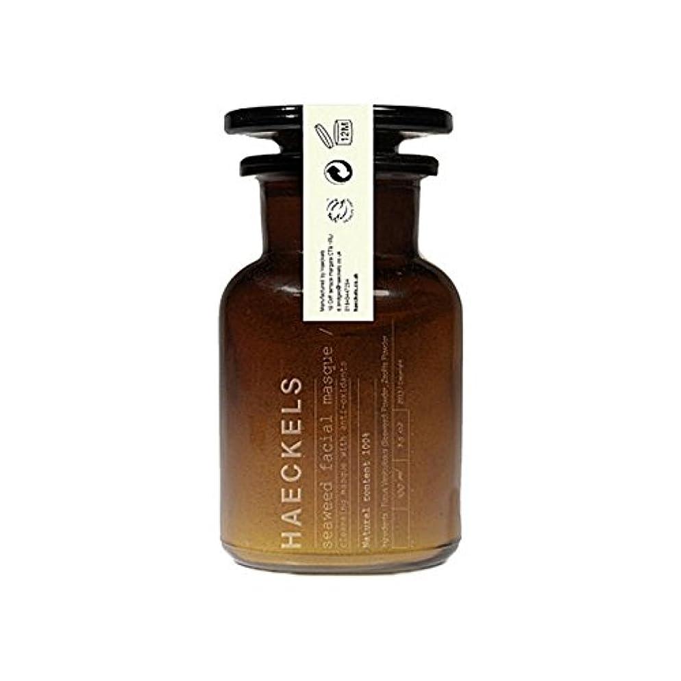 Haeckels Seaweed And Mineral Face Mask 100Ml (Pack of 6) - 海藻やミネラルフェイスマスク100ミリリットルを x6 [並行輸入品]