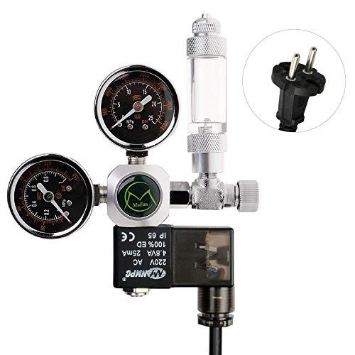 NICREW Regulador CO2 Acuario, Reductor de Presión de CO2