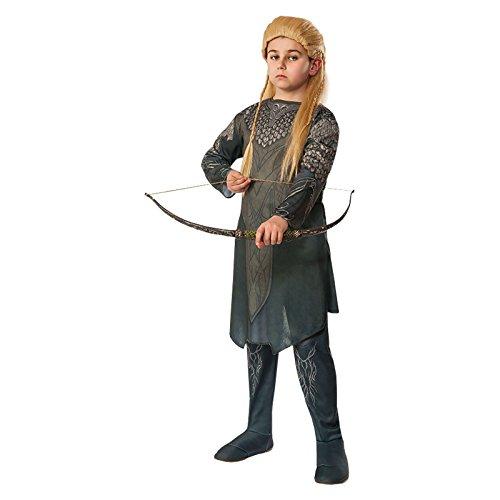 Costume Le Hobbit Legolas pour Enfant Tunique et Pantalon Olive - L