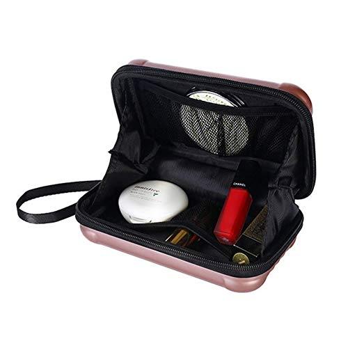 LU KU Organizador de Maquillaje Paquete, Bolso de Mujer 2019 Poliéster Multifunción Maquillaje Organizador Bolso Mujer Bolsos cosméticos Bolso de Viaje Bolsos portátiles Femeninos