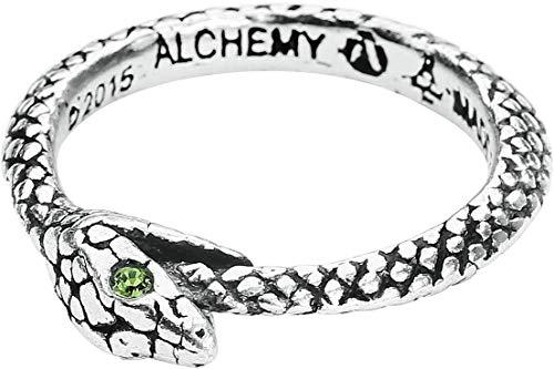 Alchemy Gothic - Il serpente, anello di Sophia Anneau, W, colore: Standard, cod. R206