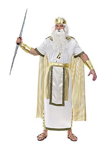 chiber - Disfraz Zeus Dios del Olimpo