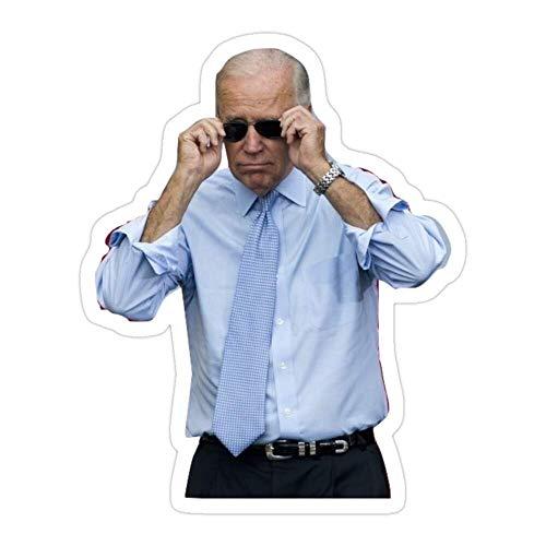 DKISEE Juego de 3 pegatinas troqueladas para gafas de sol Joe Biden para laptop, ventana, coche, parachoques, casco, botella de agua de 4 pulgadas