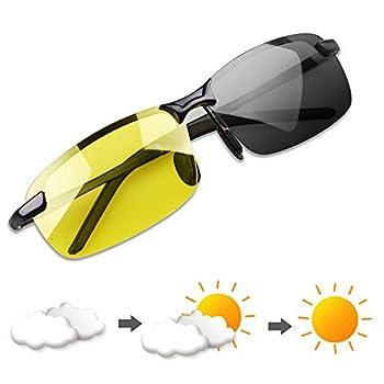 Polarized Photochromic Outdoor Sports Driving Sunglasses for Men Women AntiGlareEyewear Ultra-Light Sun Glasses