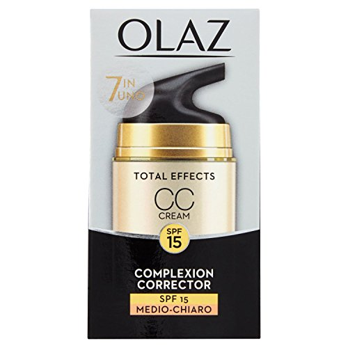 Olaz 7-in-1 Total Effects CC Creme SPF15 Light/Medium, 100 g