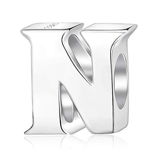 Abalorios con diseño de las letras del alfabeto (A a Z) de...