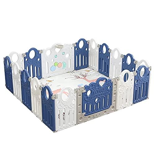 Babyspeelpelen, Opvouwbare Babybox Met Activiteitenpaneel, Veiligheidslaap Voor Peuter, Kindercentrum Met Slotdeur Binnen Of Buiten Gedurende 0-6 Jaar