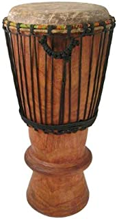 Hand-carved Bugarubu Drum From Africa - 11