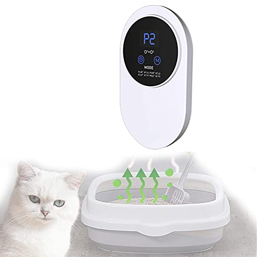 YYFGJCC Pet Mini Ozone Air Purifier,Pet Ozone Air Freshener Sterilizer,Ozone Ionizer Air Freshener,USB Powered,Portable Ozone Device for Pets,Cars,Baths,Cat Litter Box