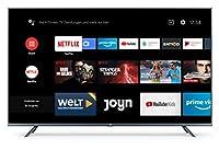 Typ: 4K UHD TV - 55 Zoll (138cm), Flat, LED Fernseher, Rahmen: Aluminium Design Auflösung: 3. 840 x 2.160 Pixel (4K/Ultra HD) - HDR und MEMC Unterstützung Digitaler Empfang: HD Triple Tuner für DVB-S2, DVB-C und DVB-T2 mit HEVC Android TV 9. 0 mit Go...