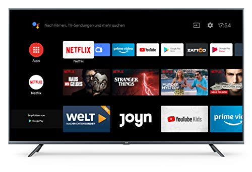 Xiaomi Mi LED TV 4S 139,7 cm (55') 4K Ultra HD Smart TV WiFi Negro LED TV 4S, 139,7 cm (55'), 3840 x 2160 Pixeles, LED, Smart...