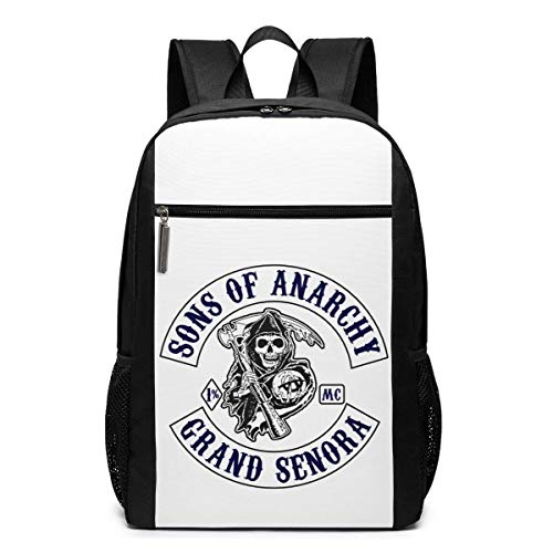 ASKSWF Sons of Anarchy Computer Backpack Waterproof Casual Fashion Printing Custom Backpack