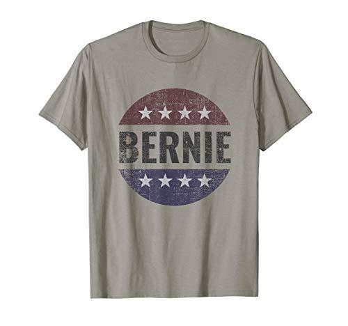 Bernie Sanders for President 2020 Distressed Stars Circle T-Shirt