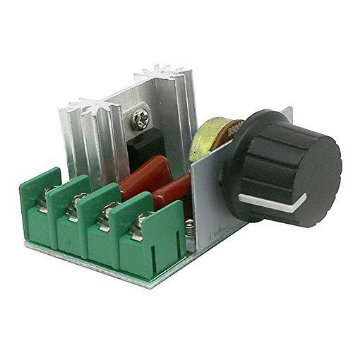 ARCELI AC 220V 2000W Regulador electrónico de Voltaje de Alta Potencia para tiristores y regulador de Temperatura