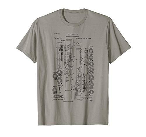 Oboe player Oboe INSTRUMENT Band retro Camiseta