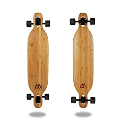 ULTIMATE CRUISER The ultimate bamboo longboard for cruising around the neighborhood! This board is designed to be perfect for cruising and carving along the coast, in the neighborhood, or on campus! This board is one of our most popular for its smoot...