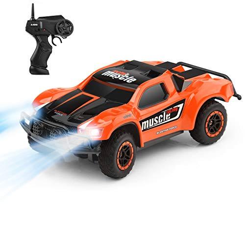 RC Auto kaufen Monstertruck Bild 5: Aandyou Ferngesteuertes Auto, 2,4Hz RC-Auto 4WD Elektronischer Geländewagen,Funkgesteuertes Auto Monster Truck Off-Road-Auto*