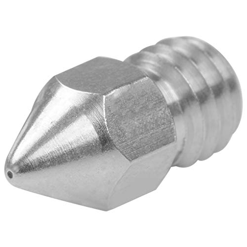 rongweiwang 3D Printer Nozzle Extruder Print Head Parts for Zortrax M200 Extruder 1.75mm Filament Replacement for Zortrax M200, 0.4mm Caliber Stainless Steel