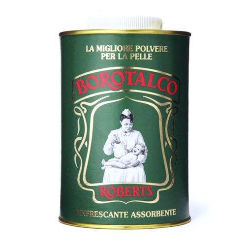 ROBERTS BOROTALCO Poudre Talc Fine Naturelle Talc Thin Powder Can Vintage Pot 500 g