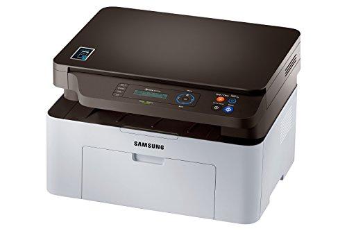 Samsung Xpress SL-M2070W Laser A4Wi-Fi Grigio multifunzione–Stampante multifunzione, Laser, Mono, mono, mono, Nero, Manuale)