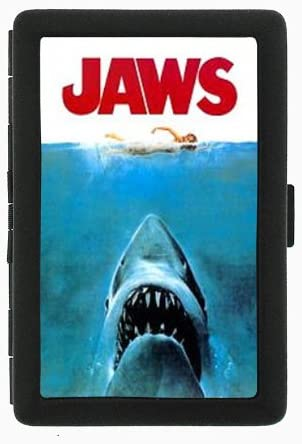 Jaws Double-Sided Ranking TOP1 Black Color Cigarette and 100% quality warranty ID wal Case Holder
