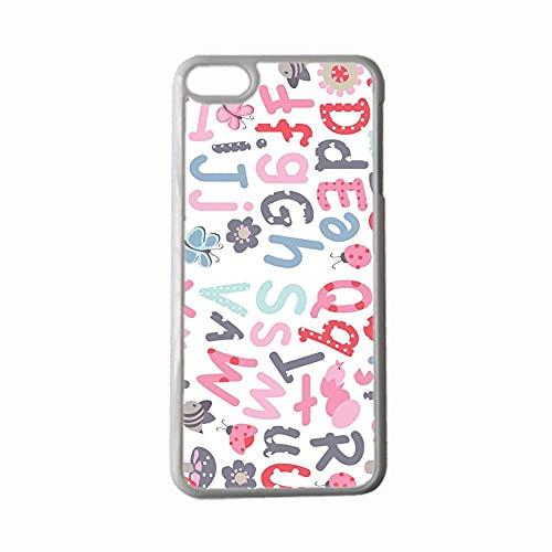 Impresión Letter Compatible con 4.7Inch iPhone 6/6S Protector para Niño Cajas De Plástico Duro