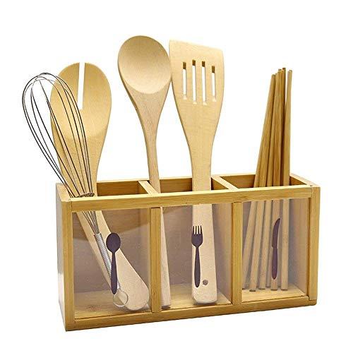 WY-YAN Palillos de acrílico/Cuchara/Cuchillo de Cocina del Piso de Almacenamiento Tamaño del Rack: 26 * 9 * 13cm