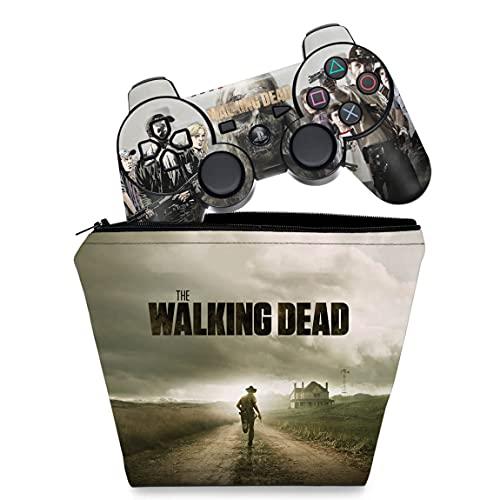 Capa Case e Skin Adesivo PS3 Controle - The Walking Dead #1