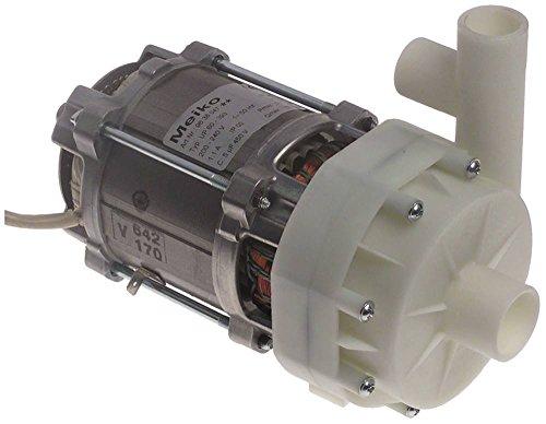 HANNING UP60-393 Drucksteigerungspumpe für Spülmaschine Meiko FV40.2, FV40.2M, FV40.2MIKE2 0,25kW 200-240V Eingang ø 28mm 50Hz
