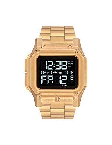 Nixon Armbanduhr Regulus All Gold