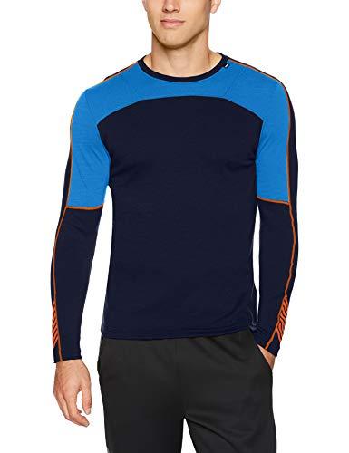 Helly Hansen HH LIFA Merino Crew Camiseta, Azul (Azul Electrico 639), X-Large (Tamaño del Fabricante:XL) para Hombre