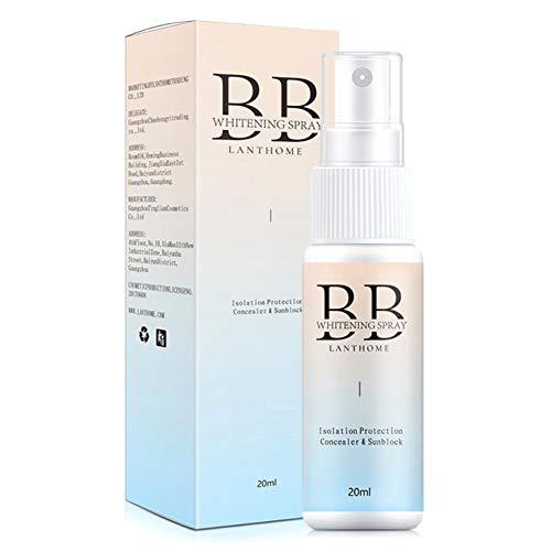 BB Spray, 20ml Body Face Hautaufhellung BB Cream Isolation Liquid Foundation Feuchtigkeitsspendende erfrischende nackte Make-up-Haut