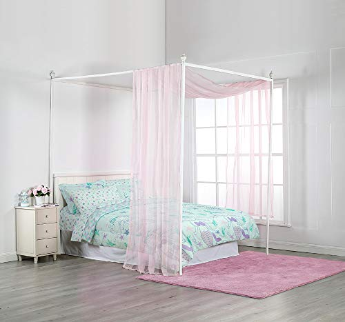Royale Linens Bed Canopy Scarf, Blush