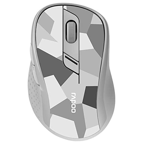 Rapoo - M500 - Grey - Silent Wireless Dualmode Mouse