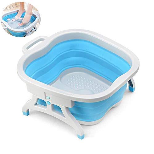 LFFDC voetmassageapparaat, inklapbaar, voor badkuip, bol en massagegereedschap, all-in-one home-salon, therapeutische massage