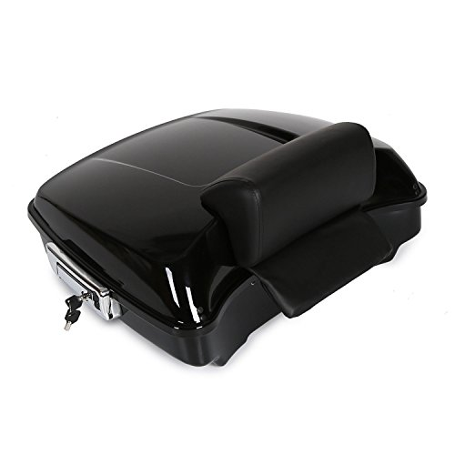 ECOTRIC Razor Tour Pack Touring Pak Trunk Tail Box For Harley Touring Models 14-UP