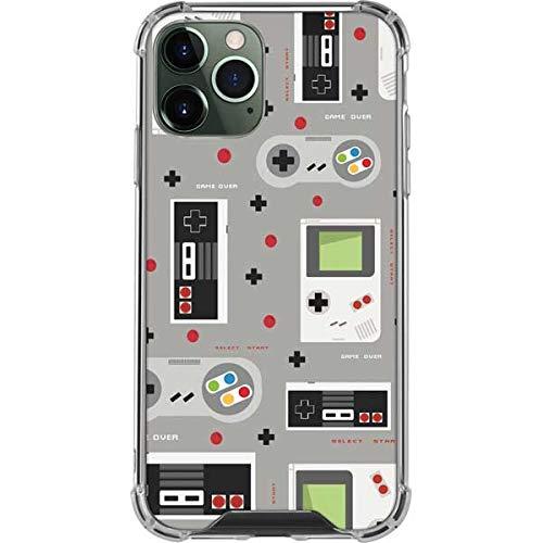 Skinit Clear Phone Case Compatible with iPhone 12 Pro Max - Skinit Originally Designed Retro Nintendo Pattern Design