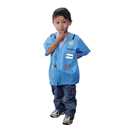 Aeromax, Inc. My 1st Career Gear Blue Dr. Top, Doctor, Blue
