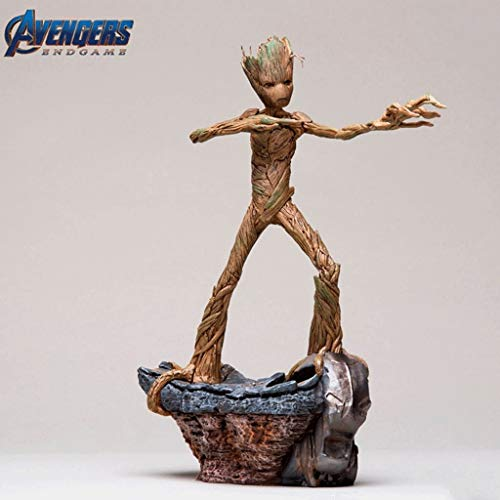 CQ Avengers Endgame Statue: Groot 1:10 BDS Art Scale Collectible Figurine from Movie Series Toys image