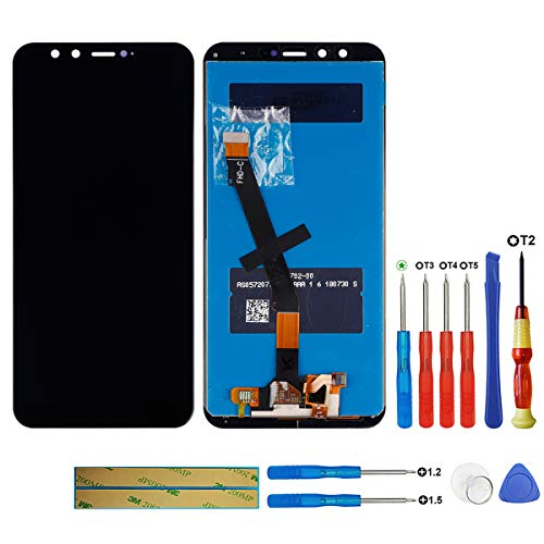 Swark - Pantalla LCD Compatible con Huawei Honor 9 Lite LLD-AL00, LLD-AL10, LLD-TL10, LLD-L31, Color Negro