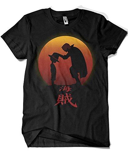 4555-Camiseta Premium, I Will Be The Pirate King (ddjvigo)