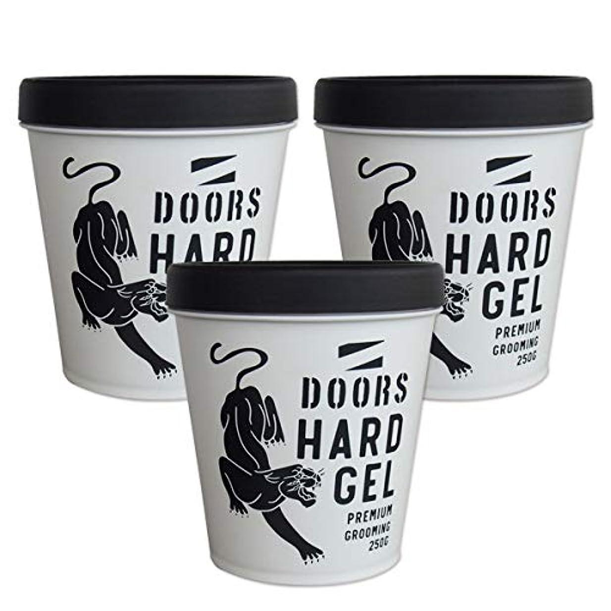 包帯現金分布DOORS ドアーズ ハードジェル 250g ×3個 セット