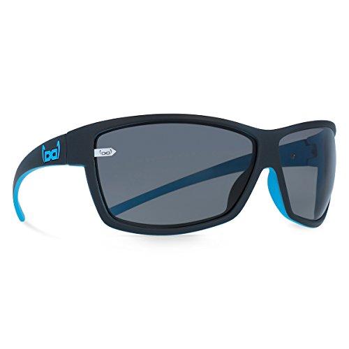 gloryfy unbreakable (G13 devil blue) - Unzerbrechliche Sport Sonnenbrille, Sun Glasses Unisex, Sportlich, Damen, Herren - Schwarz/Blau