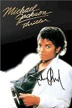 Michael Jackson Autographed Signed Thriller Album Cover Poster Autographed Signed Facsimile