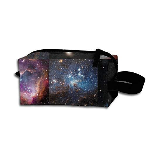 Travel Makeup Nebulae Galaxies Outer Space Beautiful Waterproof Cosmetic Bag Quick Makeup Bag Pencil Case