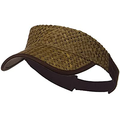 Wholesale Straw Trucker Visor